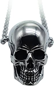Men's Gothic Biker Pendant Necklace