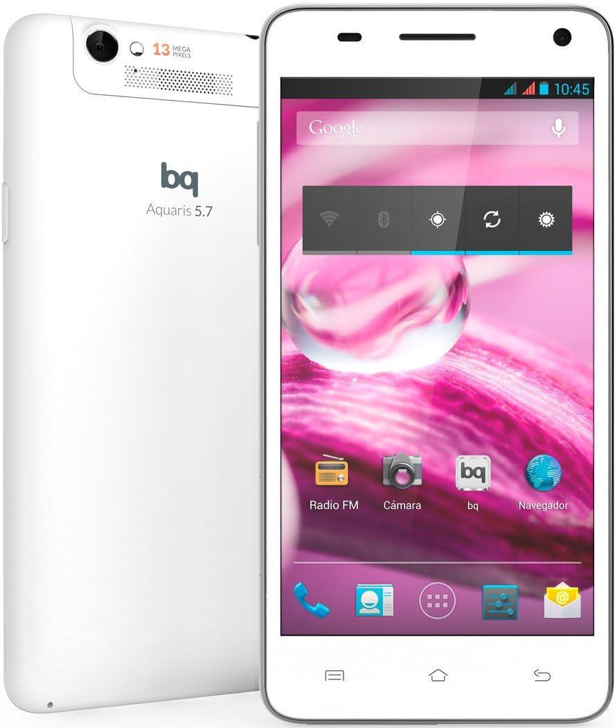 BQ Aquaris - Smartphone libre Android (pantalla 5,7