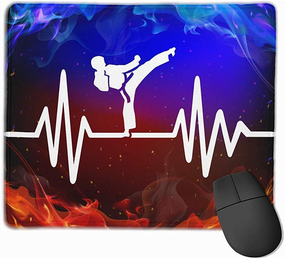Alfombrilla,Heartbeat Pulse Line Con Almohadillas Para Mouse ...