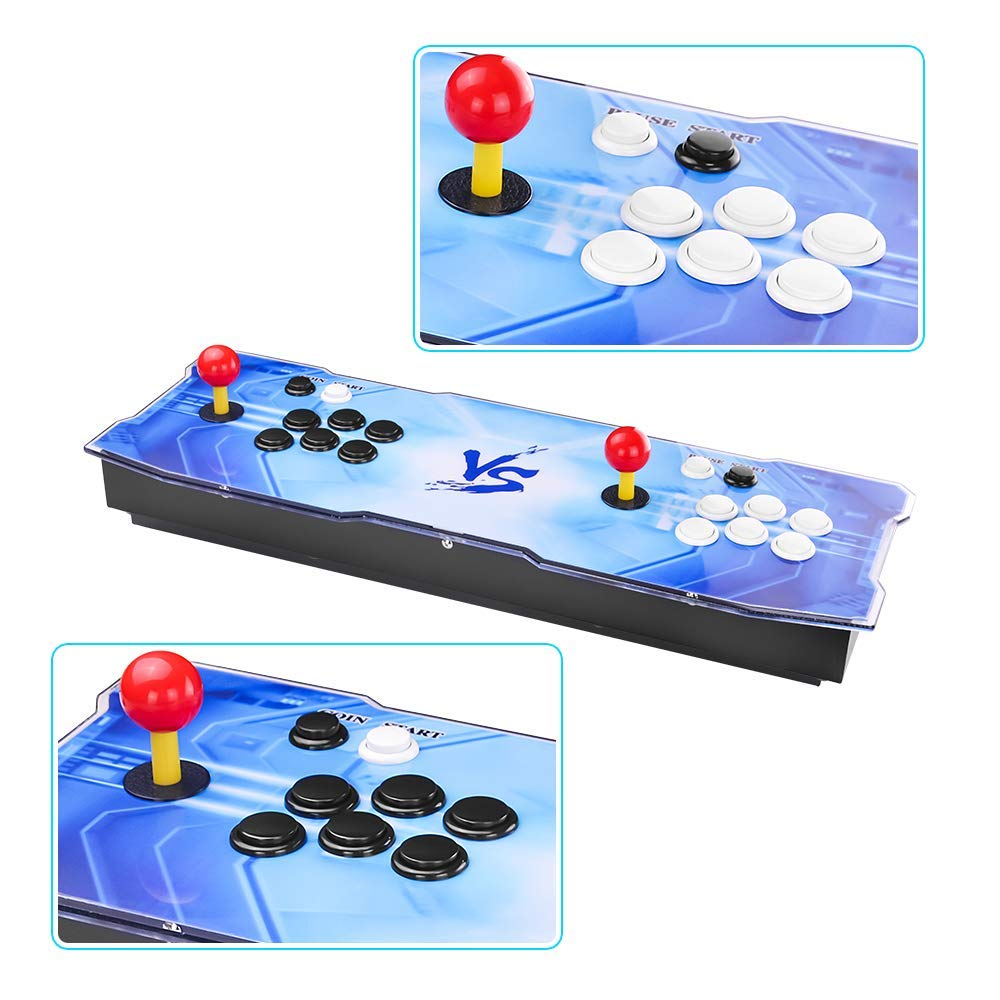 Pandora's Box 9 Multiplayer Joystick and Buttons Arcade Console, TAPDRA Arcade Games Machines for home, 1500 Retro Classic Video Games All in One, Newest System with Advanced CPU, Compatible with HDMI by TAPDRA (Image #6)