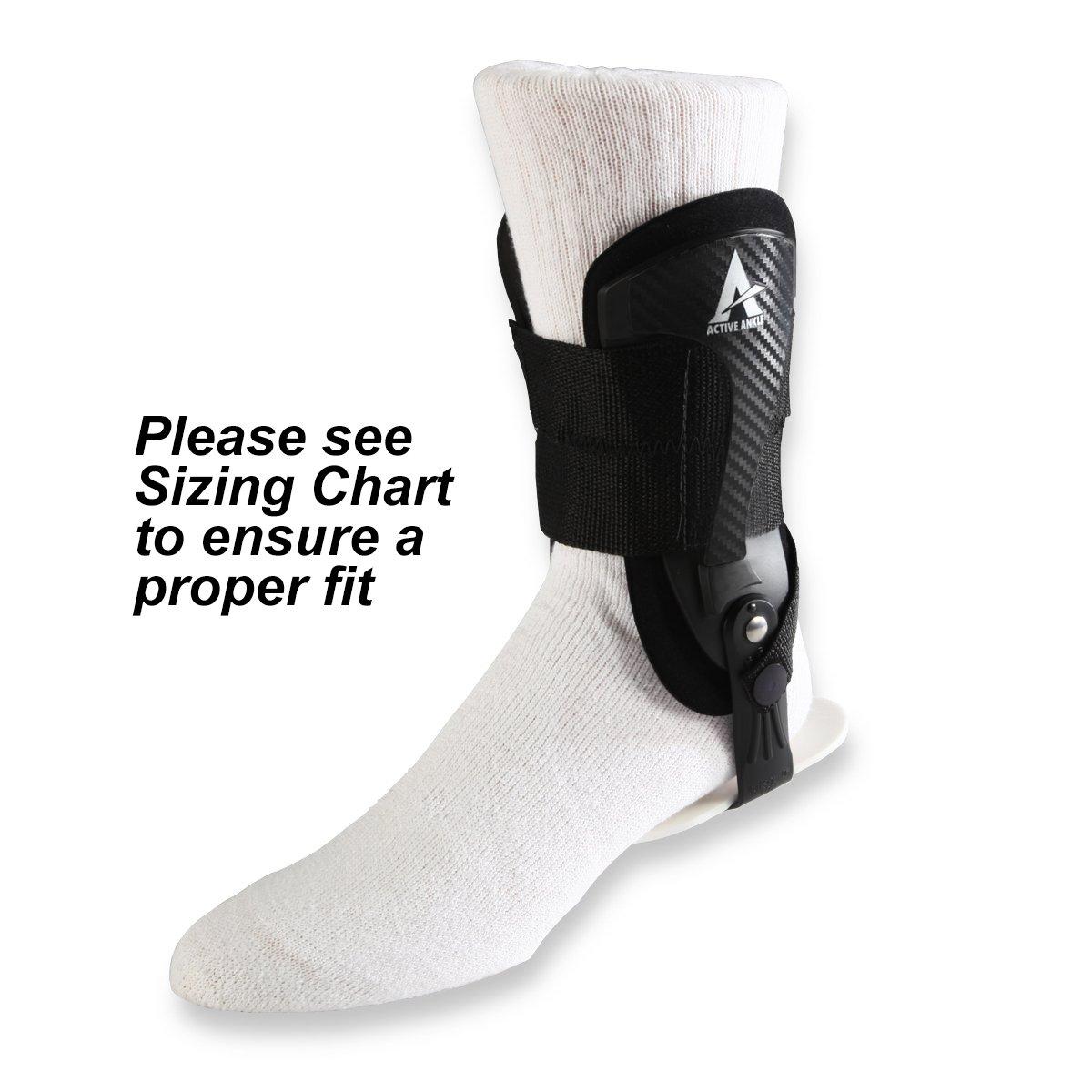 E4 Volt Bulk Active Ankle - Black (EA)
