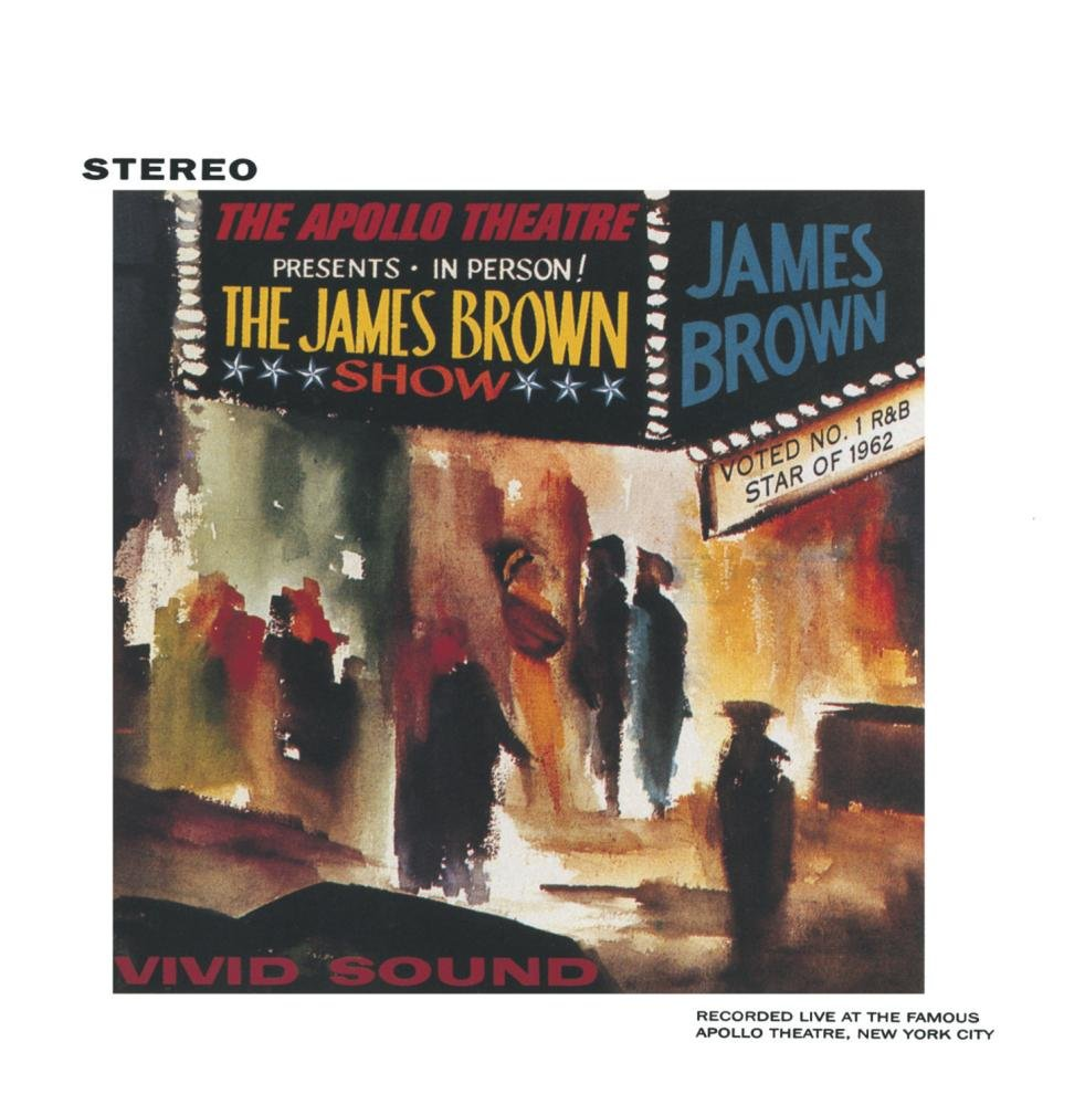 James Brown Live At The Apollo, 1962 by BROWN,JAMES