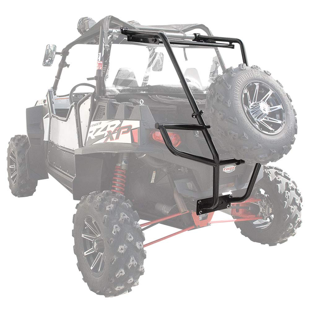 Body & Frame Parts CARGO RACK 2014 TUSK UTV REAR BUMPER AND SPARE ...