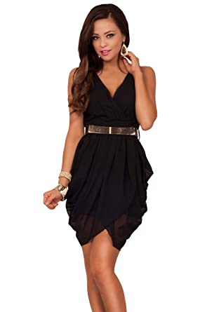 V Bottom Dress
