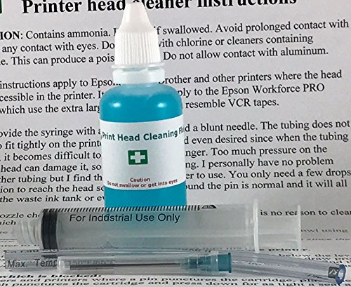 (Printhead Cleaning Flush System to unclog nozzles for all Kodak Printheads by Print Head Geek)