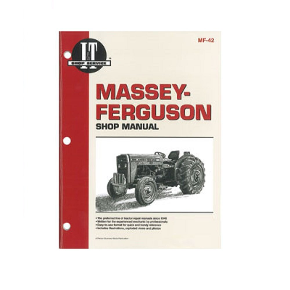 Amazon.com: SMMF42 MF-42 MF42 New Massey Ferguson Tractor Shop Manual 230  235 240 245 250: Industrial & Scientific