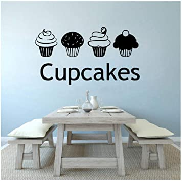 Cupcake /& Personalized Kitchen Sign Wall Sticker Wall Art Vinyl Decals