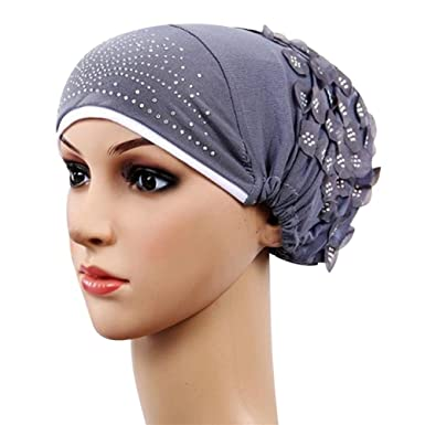 Image Unavailable. Image not available for. Colour  Nighteyes66 Fashion  Women Muslim Stretch Turban Hat Chemo Cap Head Scarf Hijab 17b11aa1fcc4