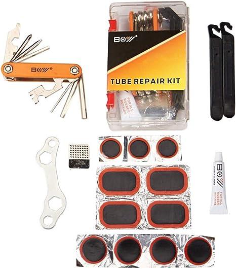 BORPEIN - Kit de reparación de Parches para neumáticos de ...