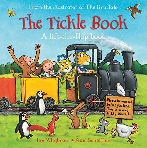 The Tickle Book: A Lift-the-Flap Book