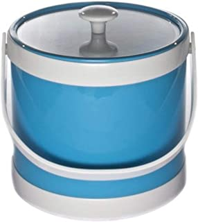 product image for Mr. Ice Bucket Springtime 3-Quart Ice Bucket, Turquoise