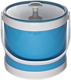 product image for Mr. Ice Bucket Springtime 3-Quart Ice Bucket, Turquoise