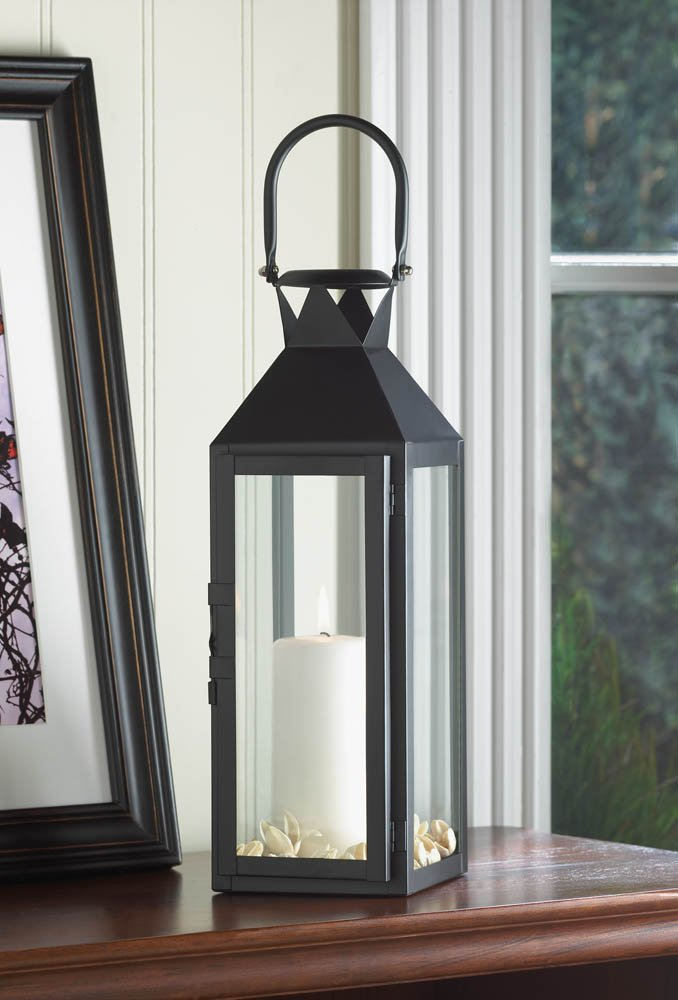 Amazon.com: 10 Wholesale Set Of Black Manhattan Candle Lantern: Home U0026  Kitchen