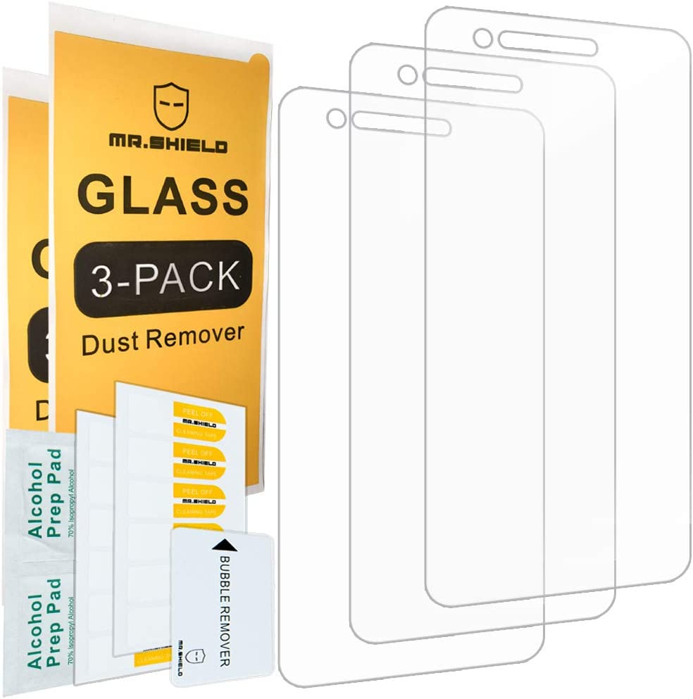 [3-Pack]- Mr.Shield for LG (Rebel 4) LTE [Tempered Glass] Screen Protector [Japan Glass with 9H Hardness] with Lifetime Replacement