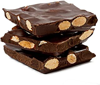 product image for Asher's Chocolates, Gourmet Chocolate Covered Almond Bark, Sweet and Salty Chocolate and Almonds, Small Batches of Kosher Chocolate, Family Owned Since 1892 (1 pound, Dark Chocolate)