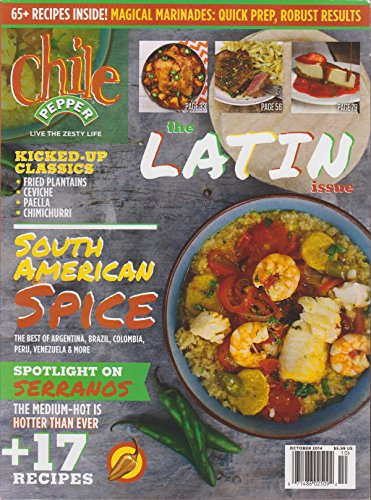 Chile Pepper Magazine October 2014