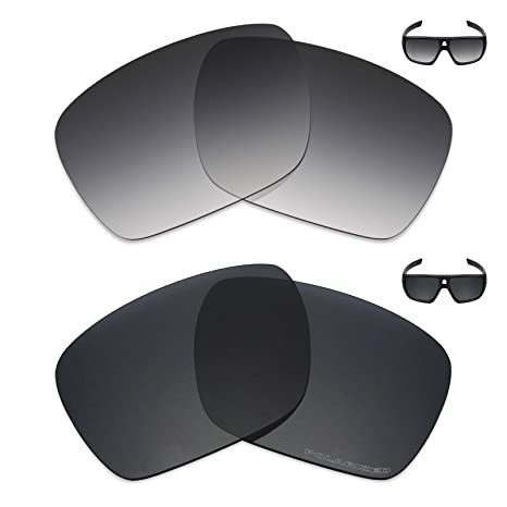 41ecedfee3 Image Unavailable. Image not available for. Color  Mryok+ 2 Pair Polarized  Replacement Lenses for Oakley Dispatch 1 Sunglass ...