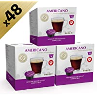 Americano Dolce Gusto-Compatible by Real Coffee, 48 Capsules, Denmark