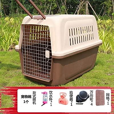 ZUOZUOZUO Mascota Caja De Aire Perro Gato Jaula Gato Fuera ...