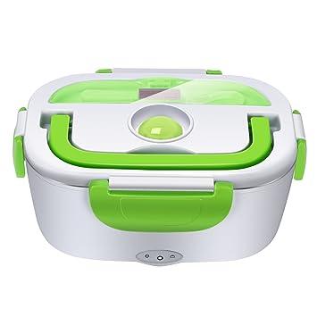 Yissvic Elektrische Lunchbox Speisenwärmer Edelstahl Warmhaltebox
