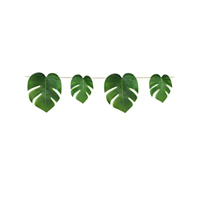 Beistle Tropical Palm Leaves Streamer: Toys & Games