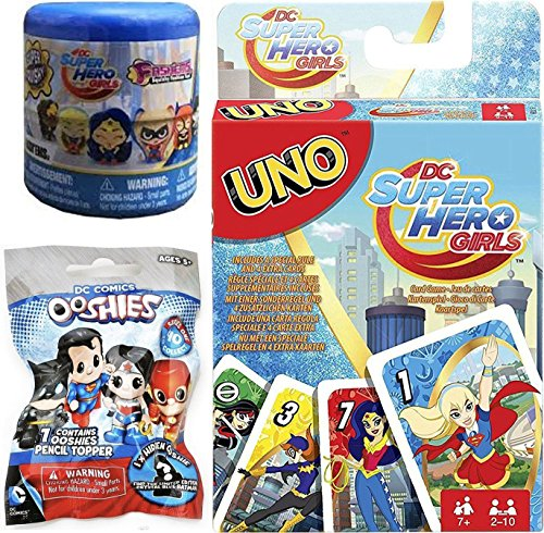 DC Super Hero Girls Game & Ooshies 1.5
