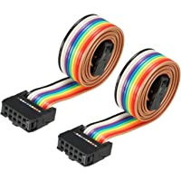 Creality 10 Pin Flexible Flat Ribbon Cable for LCD Screen Cable 3D Printer Ender 3 Ender 3 Pro Reprap Mendel Prusa I3…