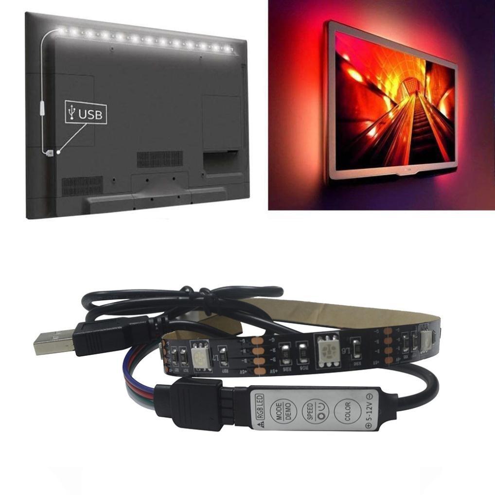 Prevently Home Kit de Iluminación Bias de luz Trasera LED...