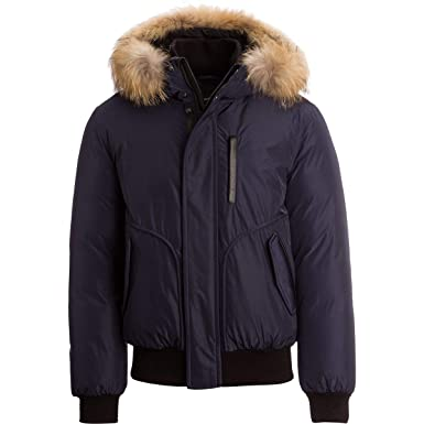 c541e0eb9093 Mackage Florian Jacket in Navy at Amazon Men s Clothing store