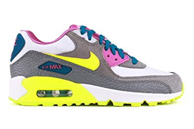 separation shoes ca422 5c1b8 Nike Air Max 90 2007 (GS) Schuhe white-volt ice-green abyss
