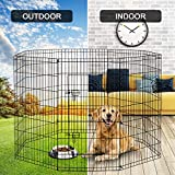PEEKABOO Dog Pen Pet Playpen Dog Fence Indoor