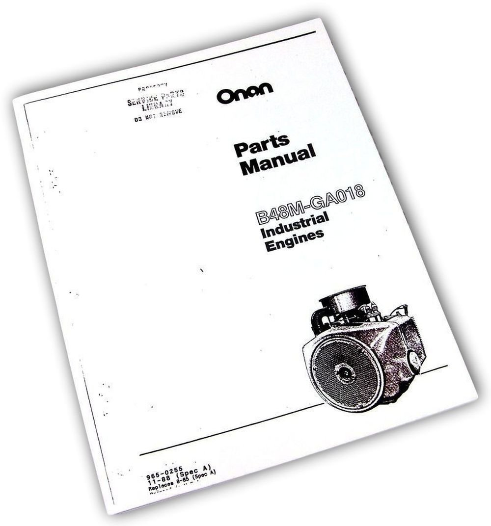 Onan Engine Parts Catalog : Onan engine parts diagram wiring library