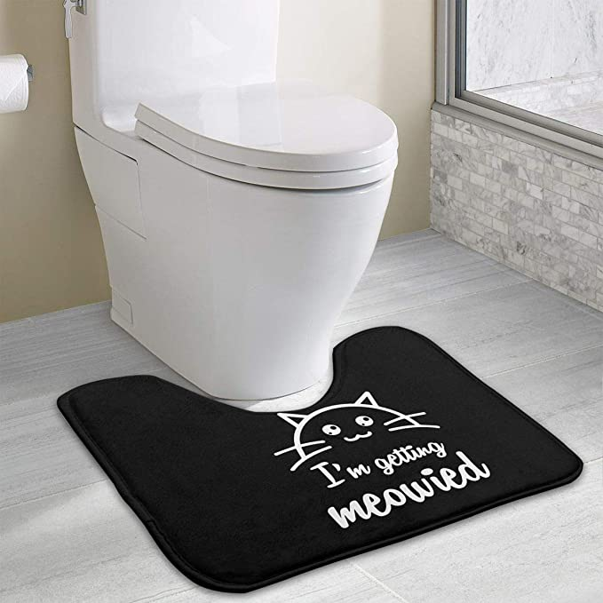 Marvelous Amazon Com Non Slip Contour Bath Mat For Toilet Im Ocoug Best Dining Table And Chair Ideas Images Ocougorg