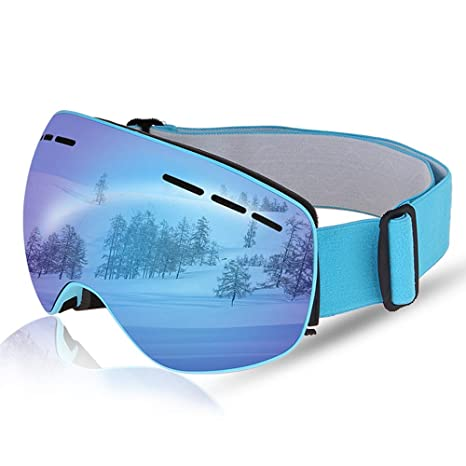 31674034848 Amazon.com   Ski Goggles Magnetic Lens with 100% UV400 Protection ...