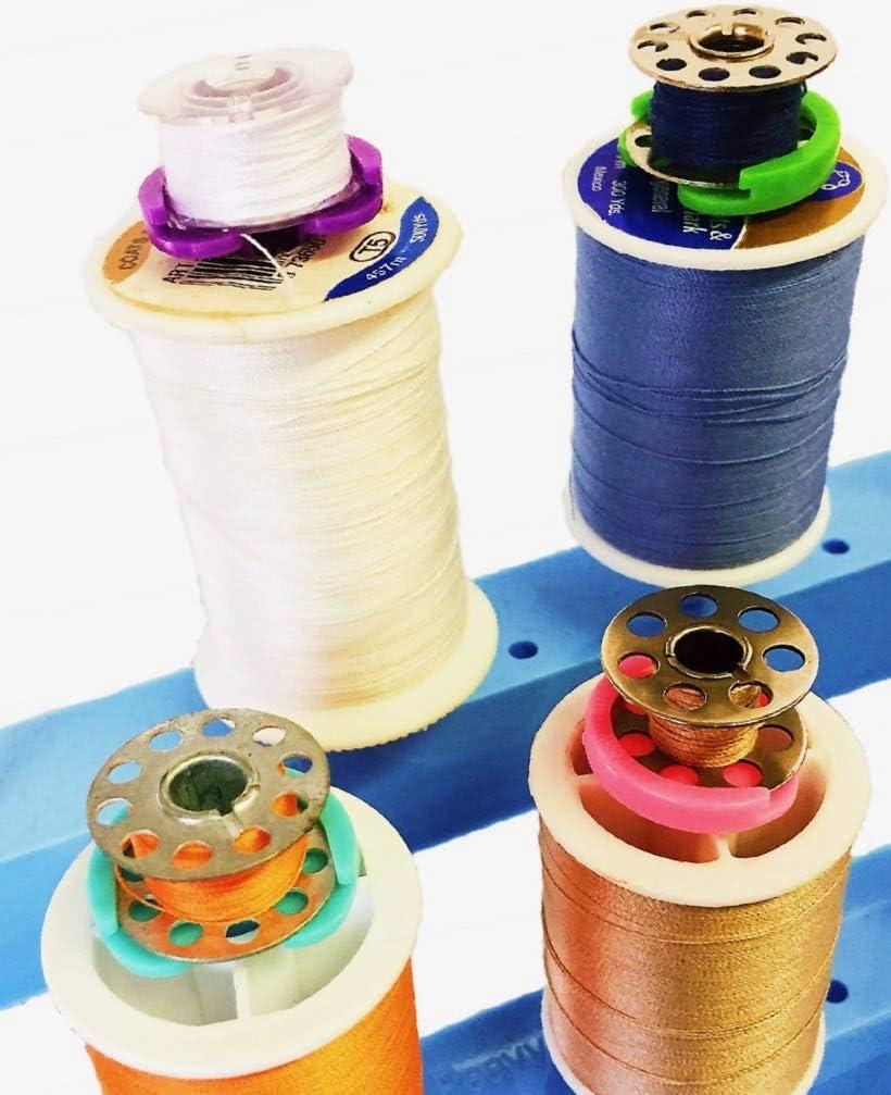 Peavytailor # 7/Bobine Buddies 15/pcs Bobine support Clamp Id/éal pour broderie quilting machine /à coudre.