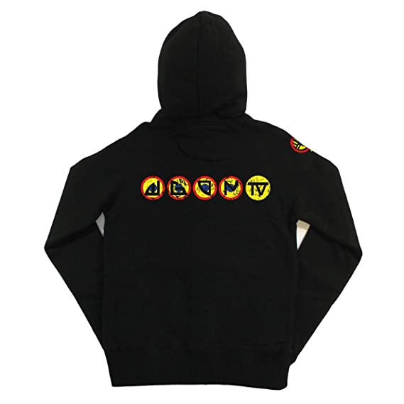 Dawn Of The Dead: Wgon Tv Mens Zip-up Hoodie 201fKFBO