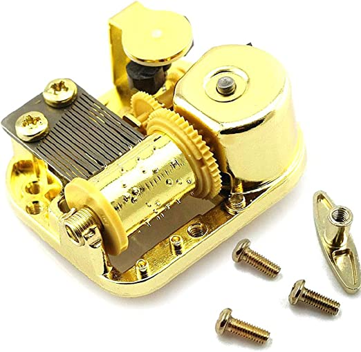 Desconocido Goodangie00 - Mecanismo de Caja de música con 18 Notas ...