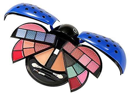 Cameo Ladybug Cute Makeup Kit, Blue