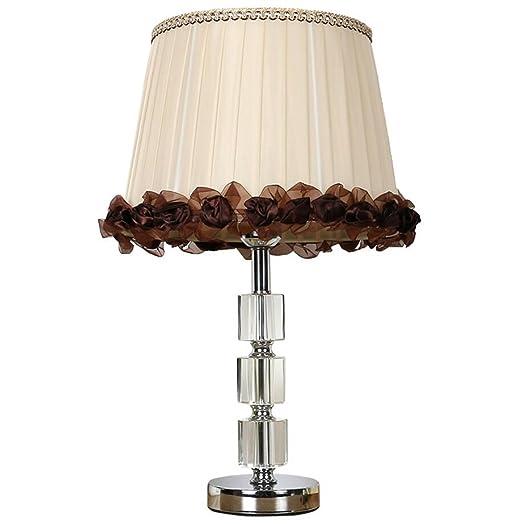 Lámpara de mesa de noche tradicional / vintage Pantalla de ...