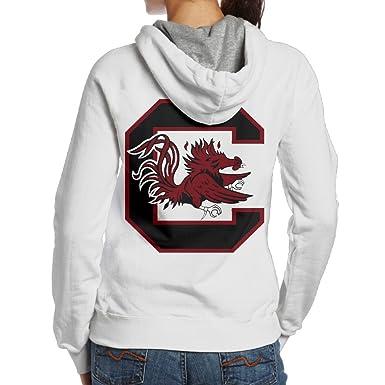 Ano Women s Hoodies University Of South Carolina Gamecocks White at ... 0546f65427