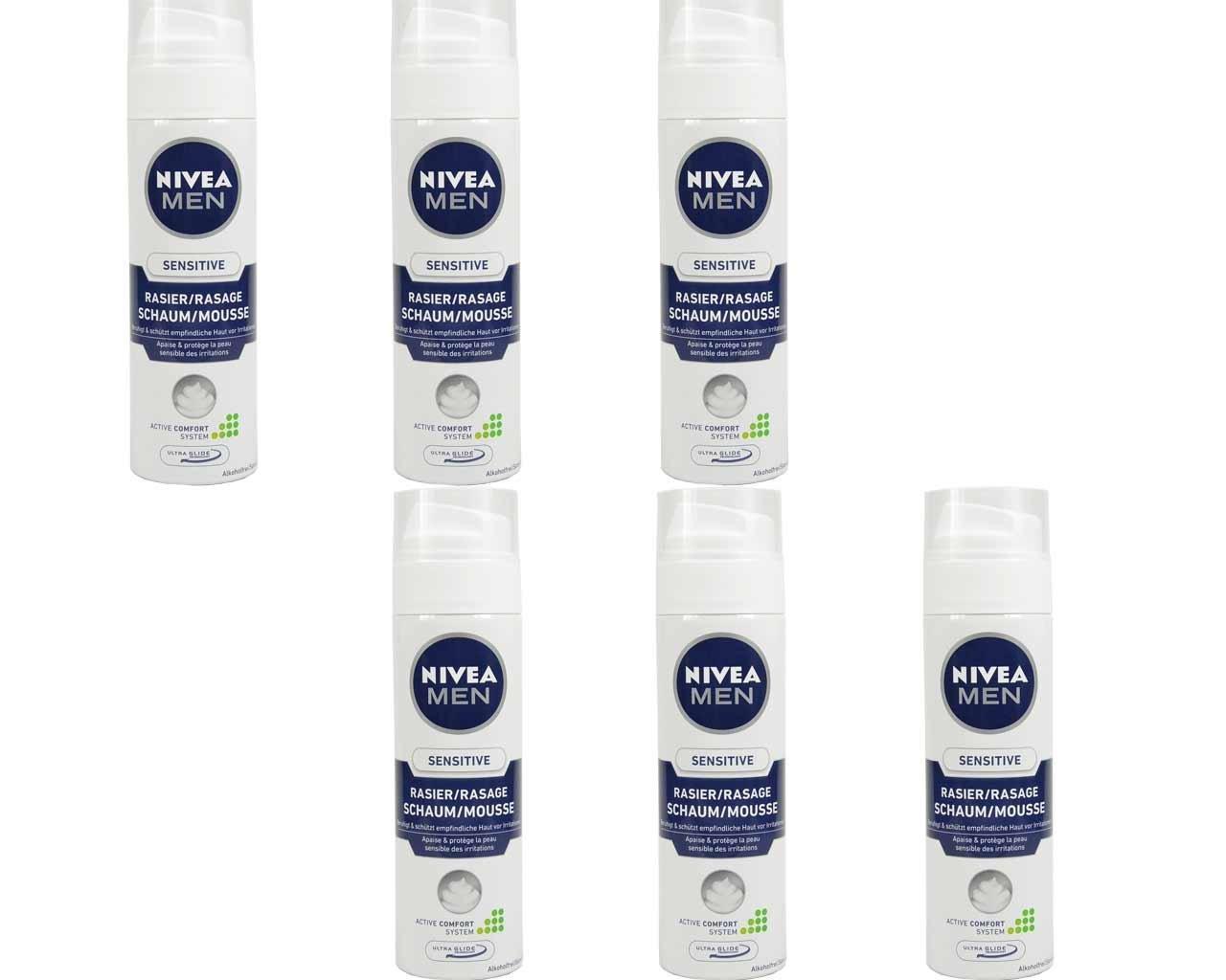[amazon.de] 6 x Nivea Sensitive pjena za brijanje za 7,74€