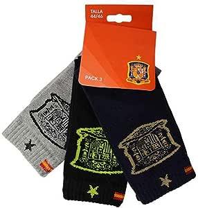 Pack 3 Calcetines Selección Española Largos -Tricolor-: Amazon.es: Ropa y accesorios
