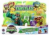 Teenage Mutant Ninja Turtles Pre-Cool Half Shell Heroes Michelangelo, Leatherhead and Raphael Bathtub Squirter Figure (Pack of 3)