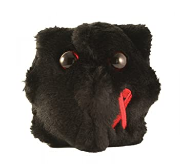 Giant Microbes - HIV (Human Immunodeficiency Virus) Educational Plush Toy by Giant Microbes