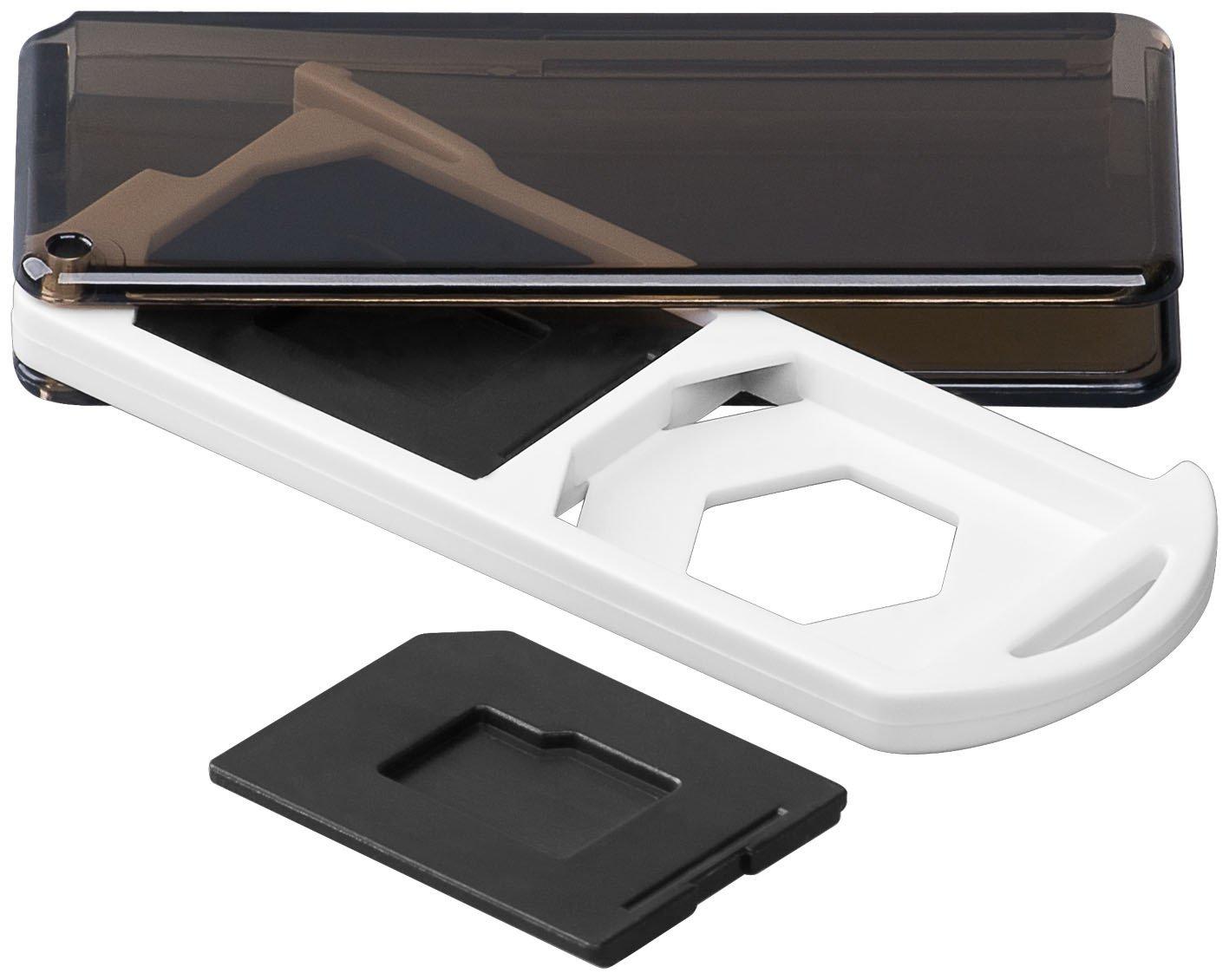 Caja de almacenamiento para tarjetas de memoria 2 x tarjeta SD 3 unidades