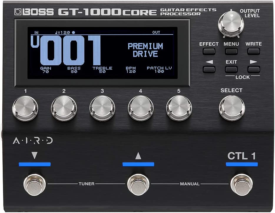 GT-1000CORE:正面