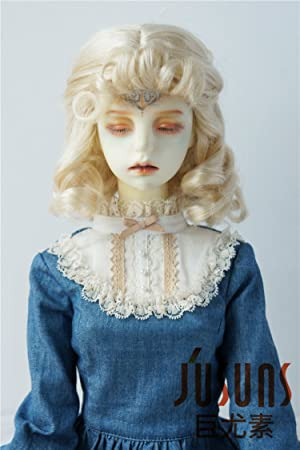 "jd380 8 – 9 ""Harry Potter película Rubio Hermione muñeca pelucas 21 – 23"
