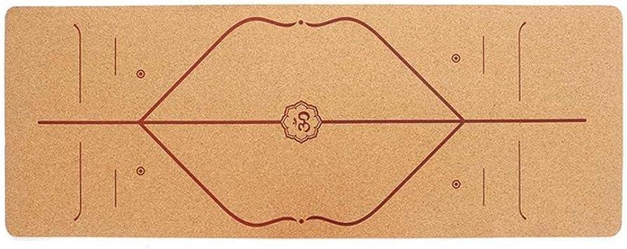 High Quality Yoga Mat Non-Slip Natural Cork TPE Home Exercise Pilates 5MM Mats