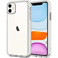 JETech Case for Apple iPhone 11 (2019) 6.1-Inch, Shock-Absorption Bumper Cover, Anti-Scratch Clear Back (HD Clear)