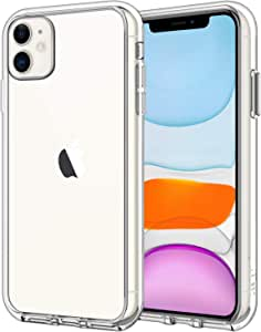 JETech Case for Apple iPhone 11 (2019) 6.1-Inch, Shock-Absorption Bumper Cover, Anti-Scratch Clear Back, HD Clear